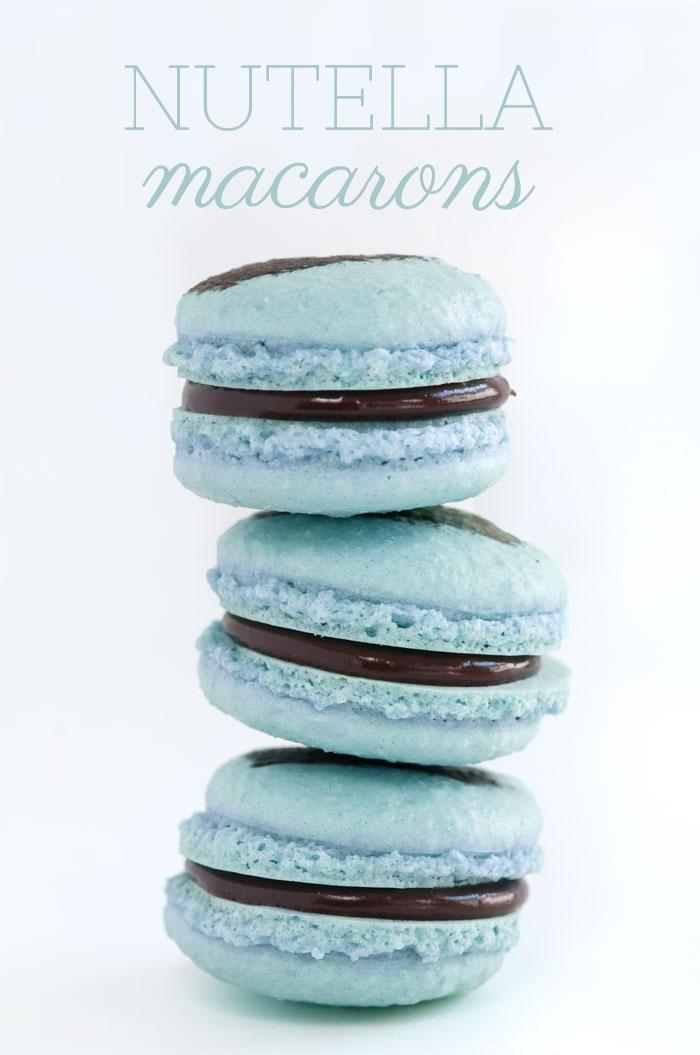 macaron - Recette Macaron Nutella