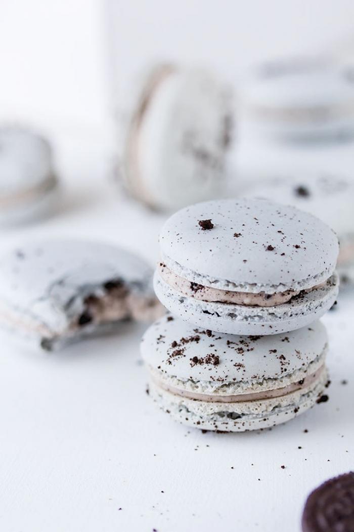 macaron - Recette Macaron Oréo