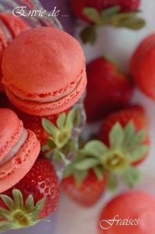 macaron - Recette Macaron à la fraise