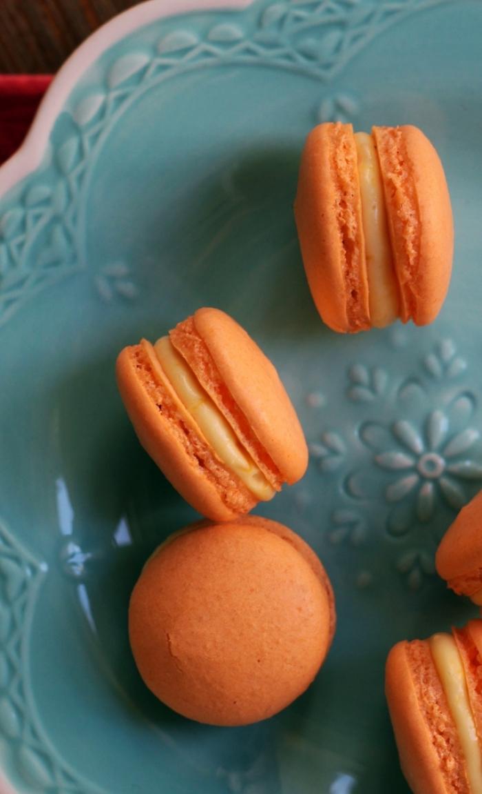 macaron - Recette Macaron Mangue chocolat blanc