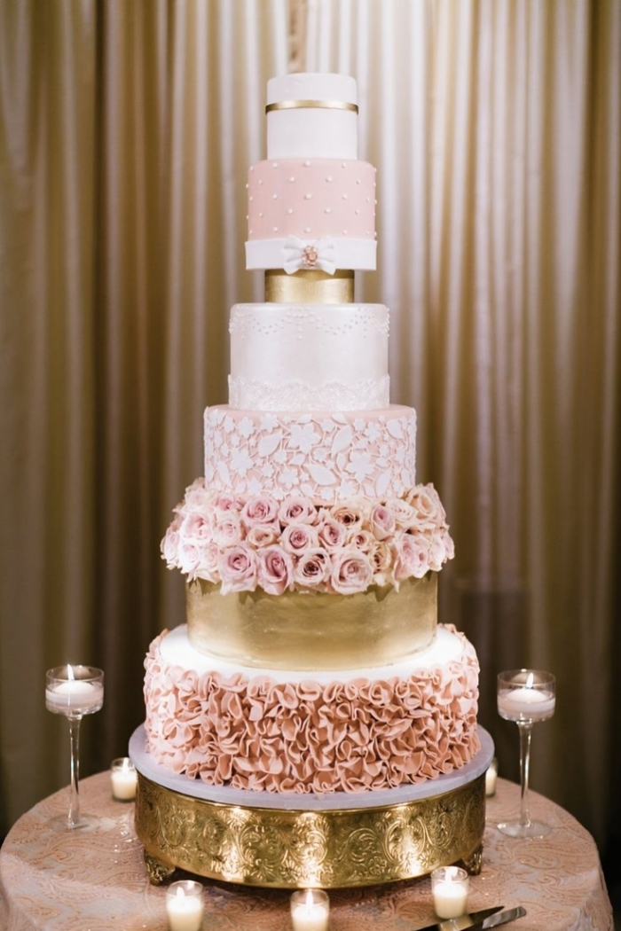 top wedding cakes 233 norme wedding cake blanc et or 23 09 2018 21101