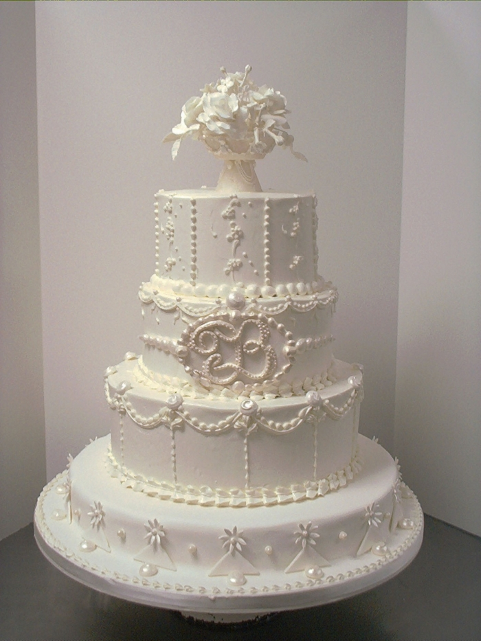 how much wedding cake to order 233 norme pi 232 ce mont 233 e blanche avec un bouquet pour un 15559